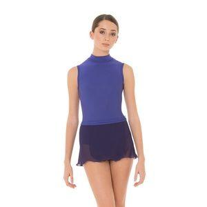 Yumiko black dance skirt